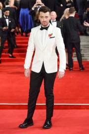 """British singer Sam Smith, who was the author of the main musical theme of """"Spectrum"""" (Song Writing's on the Wall)"""