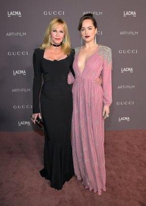 Melanie Griffith with her daughter Dakota Johnson