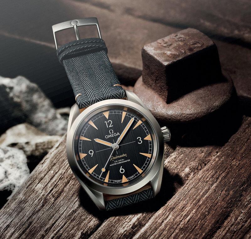 Romance of steel roads Omega railway model of watches