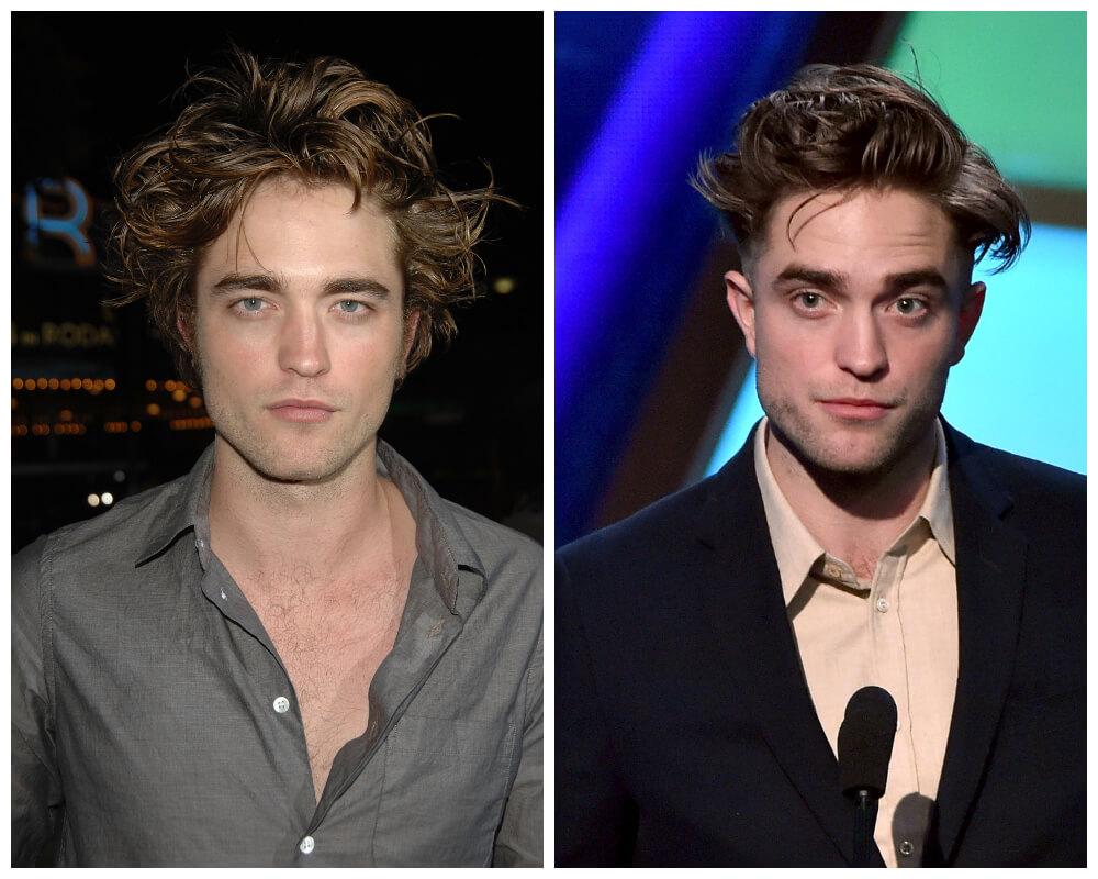 Robert Pattinson Celebrities, who made disheveled hair as Signature Style 7