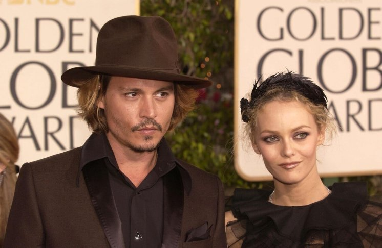 Depp and Paradis were not officially married, but lived together for more than 10 years