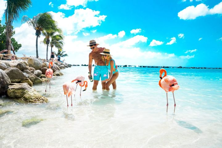 Aruba in the Caribbean
