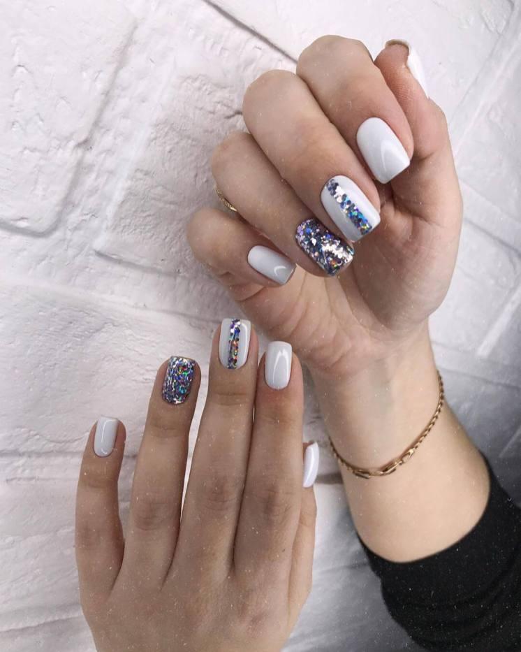 Rub-in manicure Summer Nail Designs