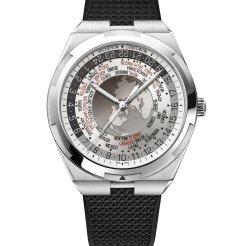 LuxeGetaways_World Time Overseas cadran gris7700V-110A-B129bracelet caoutchouc