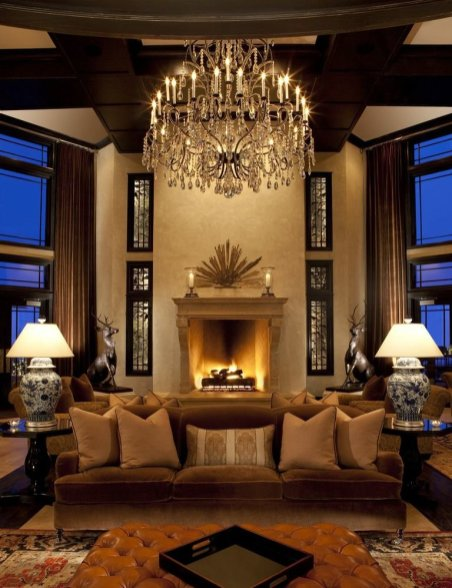 LuxeGetaways - Luxury Travel - Luxury Travel Magazine - Luxe Getaways - Luxury Lifestyle - Digital Travel Magazine - Travel Magazine - Park City is Epic at Waldorf Astoria Park City - Utah - Sponsored Post - Travel Blog - Lobby Cover - Fireplace