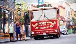 LuxeGetaways - Luxury Travel - Luxury Travel Magazine - Luxe Getaways - Luxury Lifestyle - Digital Travel Magazine - Travel Magazine - Park City is Epic at Waldorf Astoria Park City - Utah - Sponsored Post - Travel Blog - Main Street Trolley