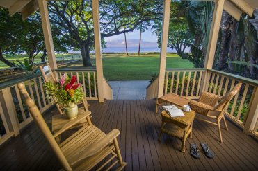 LuxeGetaways | Courtesy Waimea Plantation Cottages - Lanai
