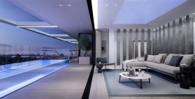 LuxeGetaways | Live in Luxury at the Grand Pavilion Penthouse in Melbourne