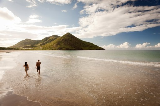 LuxeGetaways Magazine   Courtesy Caribbean Travel Association   St Kitts Beach