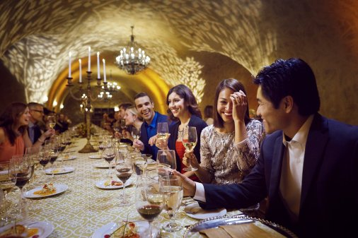 LuxeGetaways - Luxury Travel - Luxury Travel Magazine - Luxe Getaways - Luxury Lifestyle - Napa Valley Wine Experiences - Meritage Cave
