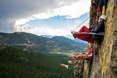 LuxeGetaways - Luxury Travel - Luxury Travel Magazine - 10 Extreme Adventure Travel Experiences - Extreme Travel - mountainside camping