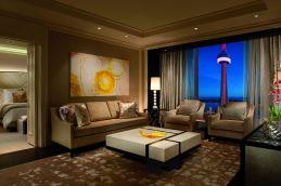 LuxeGetaways - Luxury Travel - Luxury Travel Magazine - Hotel Review - Toronto - Ritz Carlton Toronto - Luxury Hotel Review - Suite