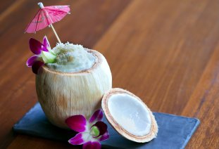 LuxeGetaways - Luxury Travel - Luxury Travel Magazine - Tasting Experience at the RIMBA Jimbaran Bali by AYANA - spicy almond coconut drink