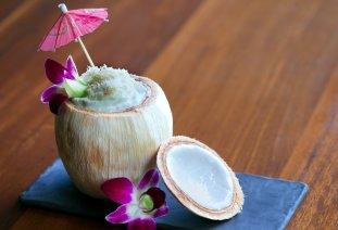 LuxeGetaways - Luxury Travel - Luxury Travel Magazine - Tasting Experience at the RIMBA Jimbaran Bali by AYANA - spicy almond coconut drink