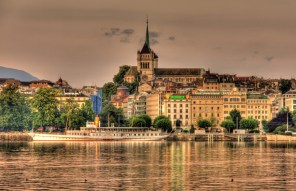 LuxeGetaways - Luxury Travel - Luxury Travel Magazine - Geneva City Guide - Geneva Switzerland - Swiss Tourism - Rolex - Cityscape at sunset