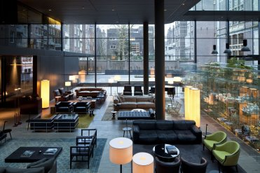 LuxeGetaways - Luxury Travel - Luxury Travel Magazine - Eric Hrubant of CIRE Travel Explores Wellness Travel Options | LuxeGetaways - Conservatorium Hotel Lobby