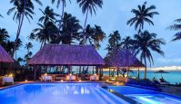 LuxeGetaways - Luxury Travel - Luxury Travel Magazine - Romantic Travel Getaways - Fiji - Fiji Resort - pool at night