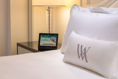 LuxeGetaways - Luxury Travel - Luxury Travel Magazine - New Hotels - Waldorf Astoria Beverly Hills - signature pillow