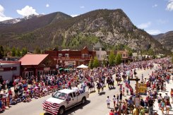 LuxeGetaways - Luxury Travel - Luxury Travel Magazine - Frisco Colorado - July 4 - Parade