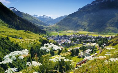 LuxeGetaways_Chedi-Andermatt_Switzerland_Slimming-Wellness-Retreat_Andermatt-Summer_Swiss-Village