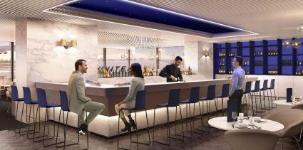 LuxeGetaways_United-Polaris-Lounge-Chicago_luxury-travel-airlines