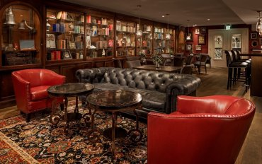 LuxeGetaways - Luxury Travel - Luxury Travel Magazine - Luxe Getaways - Luxury Lifestyle - The Ivey's Hotel Charlotte - North Carolina - Iveys Hotel - Lounge