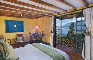 LuxeGetaways - Luxury Travel - Luxury Travel Magazine - Luxe Getaways - Luxury Lifestyle - Luxury Villa Rentals - Affluent Travel - Casa Palopo - Carretera a San Antonio Palopó, Guatemala - Bedroom with a view