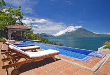 LuxeGetaways - Luxury Travel - Luxury Travel Magazine - Luxe Getaways - Luxury Lifestyle - Luxury Villa Rentals - Affluent Travel - Casa Palopo - Carretera a San Antonio Palopó, Guatemala - Villa Palopo Pool