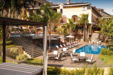 LuxeGetaways - 25 Poolside Experiences - Luxury Hotel Pools - Costa Rica Marriott Hotel San Jose + Costa Rica Pools