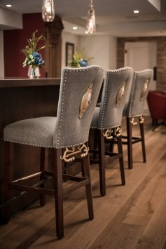 LuxeGetaways - Luxury Travel - Luxury Travel Magazine - Luxe Getaways - Luxury Lifestyle - The Ivey's Hotel Charlotte - North Carolina - Iveys Hotel - Library Lounge - Barstools