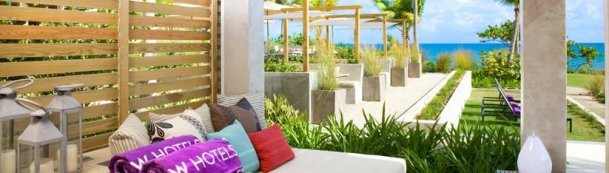 LuxeGetaways - 25 Poolside Experiences - Luxury Hotel Pools - W Hotels - Pool - Cabana