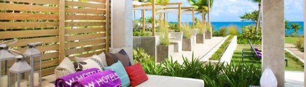 LuxeGetaways - 25 Poolside Experiences - Luxury Hotel Pools - W Hotels - Pool - Cabana