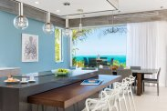 LuxeGetaways - Luxury Travel - Luxury Travel Magazine - Luxe Getaways - Luxury Lifestyle - Luxury Villa Rentals - Affluent Travel - The Dunes by Grace Bay Club - Turks and Caicos - Dining Room