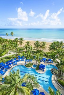 LuxeGetaways - 25 Poolside Experiences - Luxury Hotel Pools - Wyndham Grand Rio Mar, Puerto Rico. USA. Photography by: Victor Elias Photography
