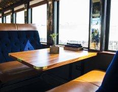 LuxeGetaways - Luxury Travel - Luxury Travel Magazine - Luxe Getaways - Luxury Lifestyle - Luxury Villa Rentals - Affluent Travel - Napa Valley Wine Train - Quattro Vino Tours - Napa Valley - California - Dining Room Table