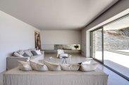 LuxeGetaways - Luxury Travel - Luxury Travel Magazine - Luxe Getaways - Luxury Lifestyle - Luxury Villa Rentals - Villas with Forever Views - Luxe Villas - Luxury Rentals - Greece - Aetos - Mylopotas - Island of Ios - Cyclades - Living Room
