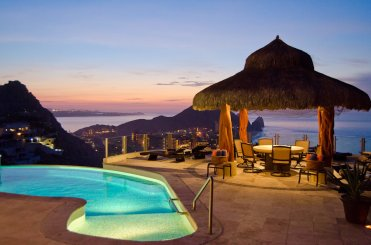 LuxeGetaways - Luxury Travel - Luxury Travel Magazine - Luxe Getaways - Luxury Lifestyle - Luxury Villa Rentals - Villas with Forever Views - Luxe Villas - Luxury Rentals - Mexico - Villa Penasco - Pedregal - Cabo San Lucas - Pool and Cabana