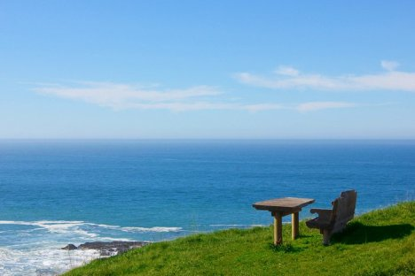 California | Inn at Newport Ranch, Fort Bragg - Bench on Bluff