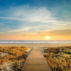 LuxeGetaways - Luxury Travel - Luxury Travel Magazine - Luxe Getaways - Luxury Lifestyle - Timbers Resorts - Timbers Kiawah - Timbers Kiawah Ocean Club and Residences - Charleston - Sunset at Beach