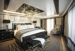 LuxeGetaways - Luxury Travel - Luxury Travel Magazine - Luxe Getaways - Luxury Lifestyle - Luxury Cruise - Mediterranean Cruises - Regent Seven Seas Cruises - RSSC - Luxury Cruising - Regent Suite - Bedroom
