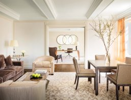 LuxeGetaways - Luxury Travel - Luxury Travel Magazine - Luxe Getaways - Luxury Lifestyle - The Mark Hotel New York City - Five Bedroom Terrace Suite - Madison Avenue - Luxury Hotel - NYC - Sitting Room