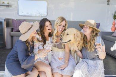 LuxeGetaways - Luxury Travel - Luxury Travel Magazine - Luxe Getaways - Luxury Lifestyle - rose wine - malene rose - wine - airstream