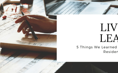 5 Things We Learned Through Resident Events