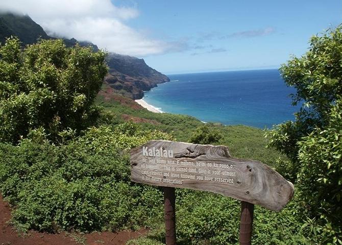 Kalalau Hiking Trail - Hawaii, USA