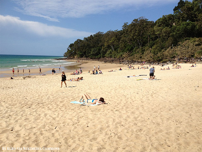 Stunning Beach Destination in Australia - Noosa Heads Beach
