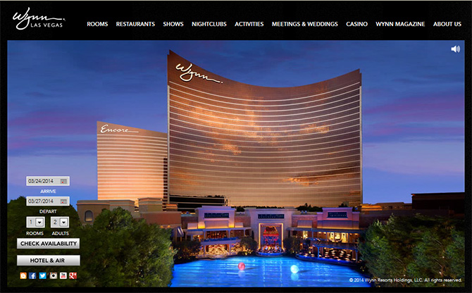 Wynn Las Vegas - Top Casinos in Las Vegas