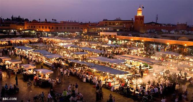 Jemma el-Fnaa Square, Marrakesh