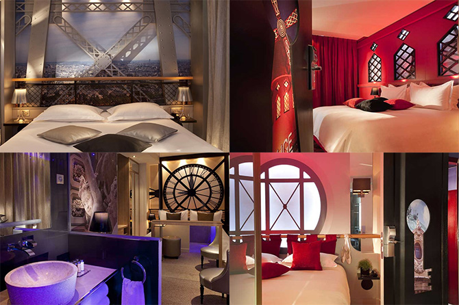 10 romantic boutique hotels in paris luxeinacity for Hotel design secret