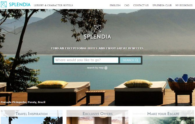 Top 10 luxury boutique hotel websites luxeinacity for Leading boutique hotels of the world
