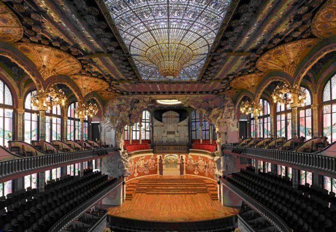 Barcelona A City Filled With Beauty Palau de la Música Catalana
